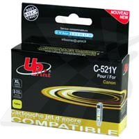 Cartridge cANON CLI-521Y UPRINT alter., yellow