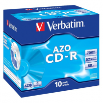 CD-R VERBATIM 700MB/10ks