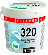 CLEAMEN 320 Deo tablety do pisoáru/1,5kg