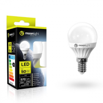 LED žárovka Moonlight E14, 220-240V, 3W, 240lm, 3000k, teplá, 25000h, 2835, 45mm/83mm