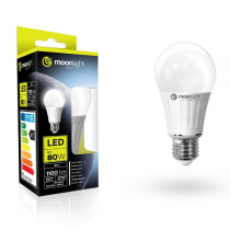 LED žárovka Moonlight E27, 220-240V, 10W, 850lm, 3000k, teplá, 25000h, 2835, 60mm/120mm