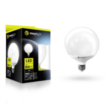 LED žárovka Moonlight E27, 220-240V, 15W, 1350lm, 3000k, teplá, 25000h, 2835, 120mm/156mm